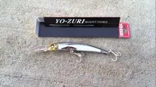 Yo-zuri crystal minnow dd 130