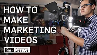 How to Make a Marketing Business Promotional Video A Complete Guide| Kaicreative |  Filmmaker