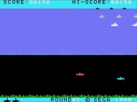 N-Sub (Europe) Sega - SG-1000 INGAME