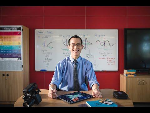 YouTube Stories   Eddie Woo: Sharing the Wonder of Mathematics