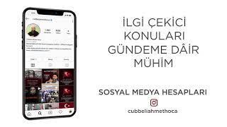 Cübbeli Ahmet Hocaefendi Sosyal Medya Tanıtım Filmi