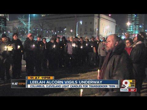 Vigils support Leelah, transgenders