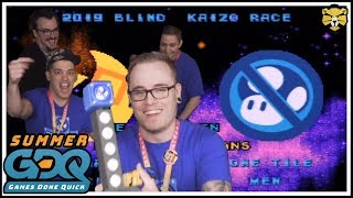 Summer Games Done Quick 2019 SMW Blind Kaizo Race: Trolling For Charity!