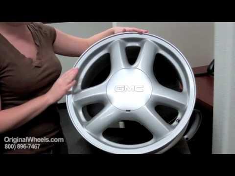 Sonoma Rims & Sonoma Wheels - Video of GMC Factory, Original, OEM, stock new & used rim Co.