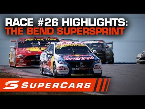 2020年 SUPERCARS OTRザベンド500 スーパースプリント#26決勝レースハイライト動画