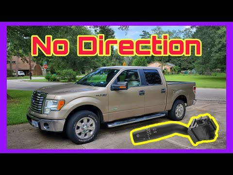 Ford F-150 Turn Signal Switch Replacement / Stupid Easy!!!