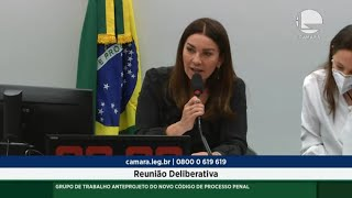 GT NOVO CÓDIGO DE PROCESSO PENAL - Discussão e Votação de Propostas - 26/10/2021 10:00