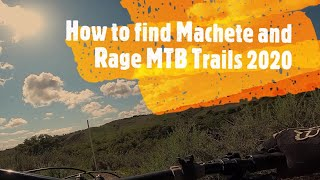 How to find Rage and Machete MTB Trails | Ladera Ranch | Las Flores Open Space