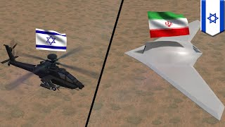Watch the IDF blow an Iranian UAV out of the sky: Israel v Iran - TomoNews