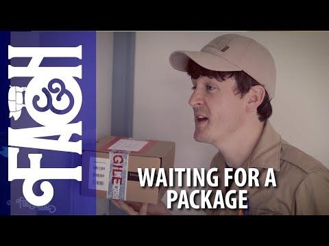 Čekání na balíček