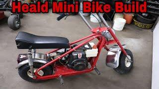 Heald Mini Bike Build