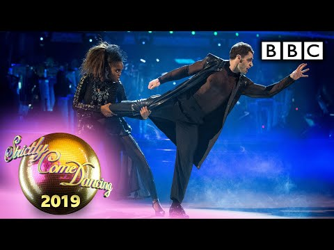 Kelvin and Oti Tango to 'Bad Guy' – Halloween | BBC Strictly 2019
