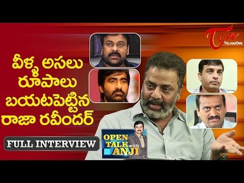 Actor Raja Ravindra Exclusive Interview | Open Talk with Anji | #04 | Telugu Interviews
