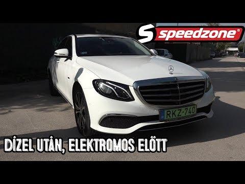 Speedzone teszt: Mercedes-Benz E 300de: Dízel után, elektromos előtt
