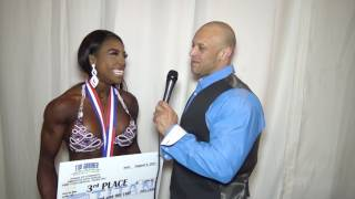 2017 IFBB Tampa Pro | Figure Third Place Devone Martin
