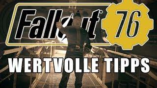 Meine Tipp zur Fallout 76 BETA | Anfänger Guide | PS4