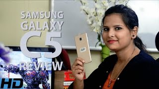 Samsung Galaxy C5 Unboxing and Review Hindi | Price l Specification | Camera | Battery | Ratings