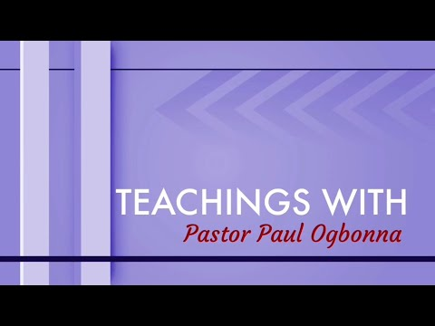 TEACHINGS WITH PASTOR PAUL: GRIEVING THE HOLY SPIRIT
