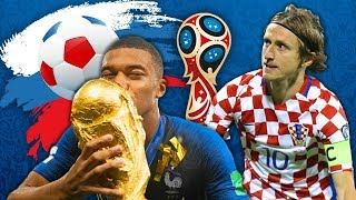 MY WORLD CUP 2018 TEAM OF THE TOURNAMENT!