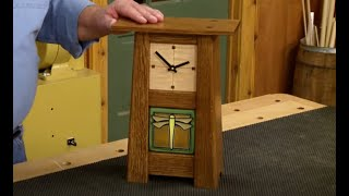 Making A Craftsman-Style Mantel Clock
