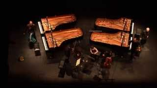 J.S.Bach Konzert für vier Klaviere und Orchester - Hans-Peter und Volker Stenzl, LP-Duo