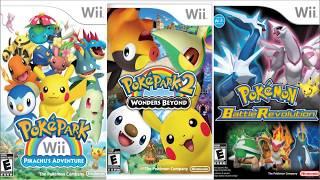 """Descargar Todos Los Juegos De """"Pokemon"""" Para Nintendo Wii [Español][Iso-Wbfs][Mega]"""