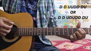 Tera Mera Rishta - Awarapan / Na Kar Deewana - ROxen - Hindi Guitar cover lesson chords easy