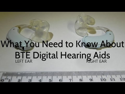 What You Need to Know About BTE Digital Hearing Aids