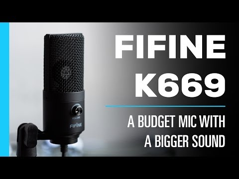 Fifine K669 USB Microphone – Review & Audio Test