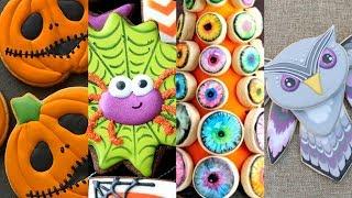 BEST HALLOWEEN COOKIES! Cookie Decorating Video Compilation