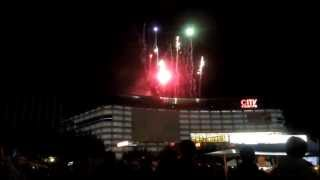 preview picture of video 'Feuerwerk 10 Jahre City-Point Kassel Mitternachts-Shopping 28.09.2012'