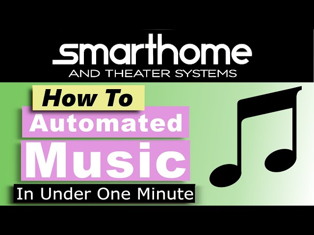 Crestron Home OS - create media scene in less than one minute