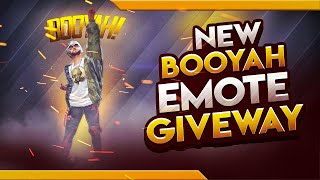 BOOYAH EMOTE GIVEAWAY | FREE FIRE | SHIV GAMING!