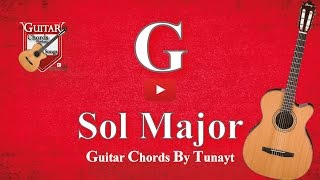 ★ ★ ★ Sol Major | How To Play G Chord On Guitar | Sol Major Akoru Gitarda Nasıl Basılır ?