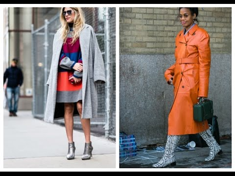 Модные тенденции и стили верхней одежды весна 2017