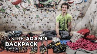 Adam Ondra #72: Inside Adam's Backpack / Adam reveals his gear