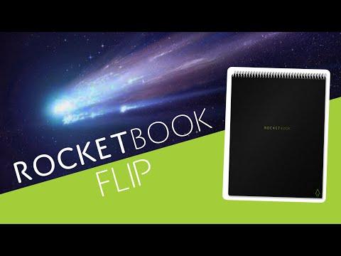 Rocketbook Retournez (A5, À rayures, couverture souple)