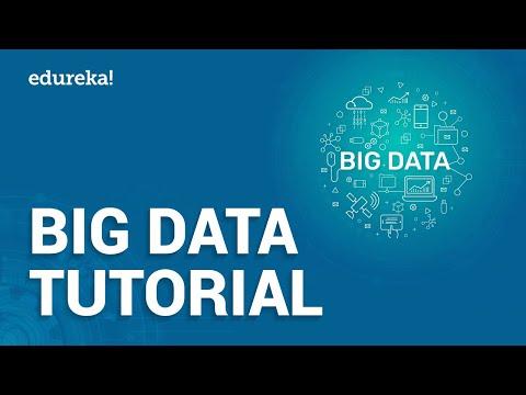 Big Data Tutorial For Beginners | What Is Big Data | Big Data Tutorial | Hadoop Training | Edureka