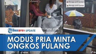 Viral Video Pria Kehujanan & Pingsan, Ngaku dari SLB, Ternyata Penipuan Modus Minta Ongkos Pulang