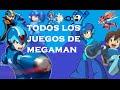Todos Los Juegos De Megaman 1987 2014