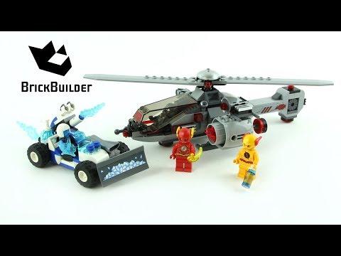 Vidéo LEGO DC Comics Super Heroes 76098 : Le combat de glace