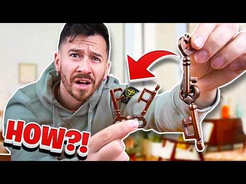 How To Solve The IMPOSSIBLE Key Puzzle!? (Puzzles and Brain Teaser)