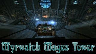 Skyrim  Creation Club Myrwatch Mage Tower Review