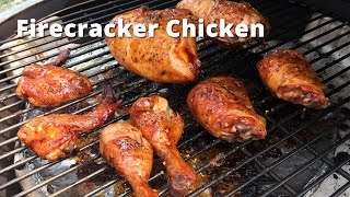 Firecracker Chicken on the Big Green Egg Malcom Reed HowToBBQRight