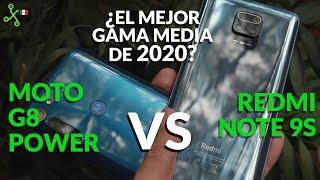 REDMI 9S VS MOTO G8 POWER: El VERSUS definitivo de la gama media 2020 en México ¿A cual le vas?