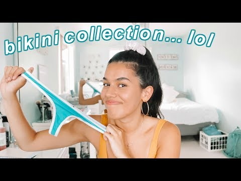 Bikini Collection Try-on 2018 *sorry Mom LOL*