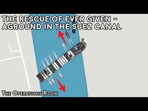How the Ever Given Was Rescued From the Suez Canal