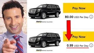 5 CAR RENTAL SECRETS ENTERPRISE, BUDGET & HERTZ Don't Want You to Know!
