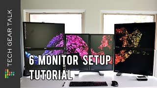 6 Monitor Setup Tutorial