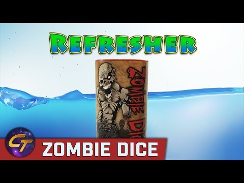 Zombie Dice - Refresher on How to Play // Cosmic Tavern